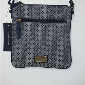 Tommy Hilfiger Monogram Jacquard Crossbody Bag